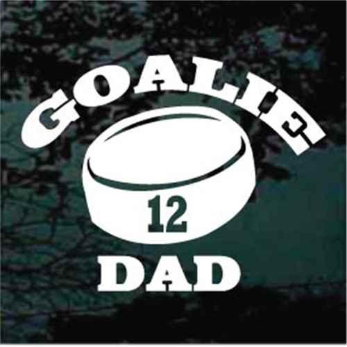 Goalie Dad
