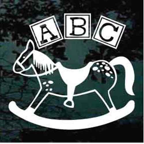 ABC Rocking Horse