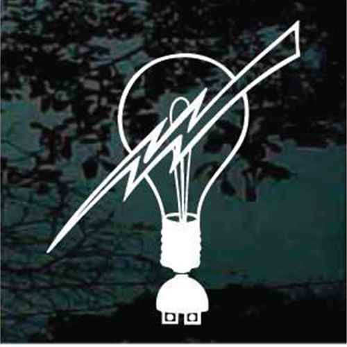 Light Bulb Lightning Bolt