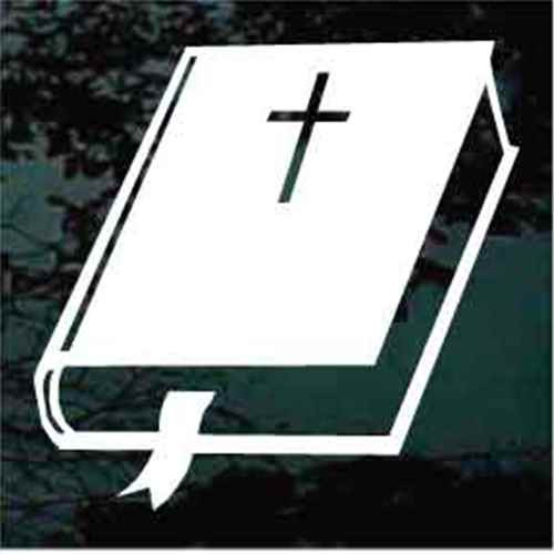 Bible With Cross & Bookmark