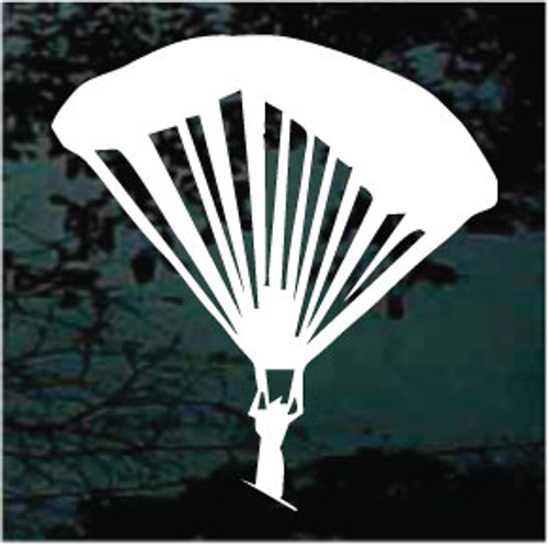 Skydiving Parachute Silhouette