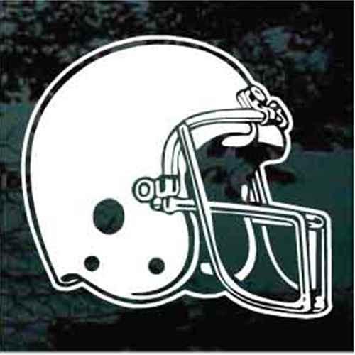 Detailed Football Helmet