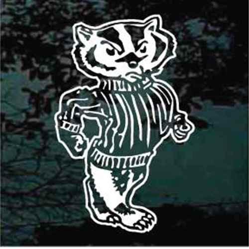 Badger Mascot Walking