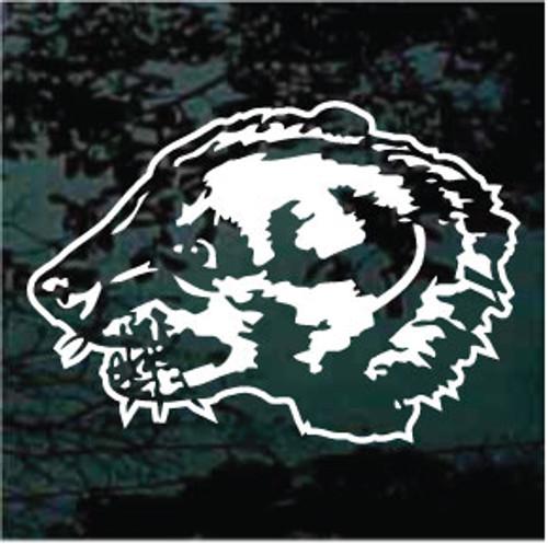 Badger Mascot 03