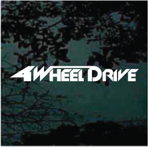 Four Wheel Drive 01