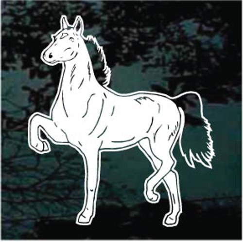 Hackney Horse Prancing