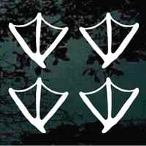 Duck Tracks Stickers
