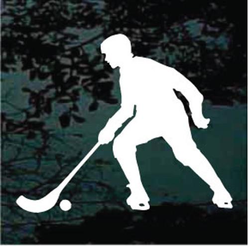 Hockey Player Silhouette 06