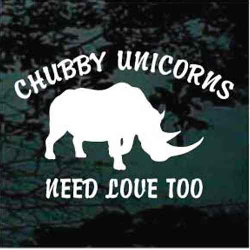 Chubby Unicorns Need Love Too Rhinoceros