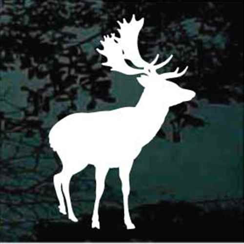 Moose Standing Silhouette