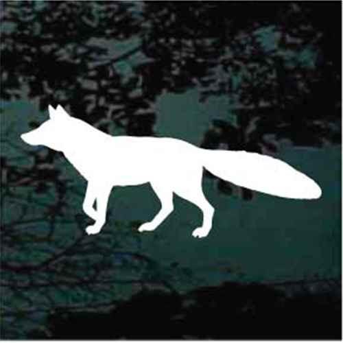 Alert Fox Silhouette