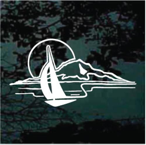 Sail Boat Scene 01