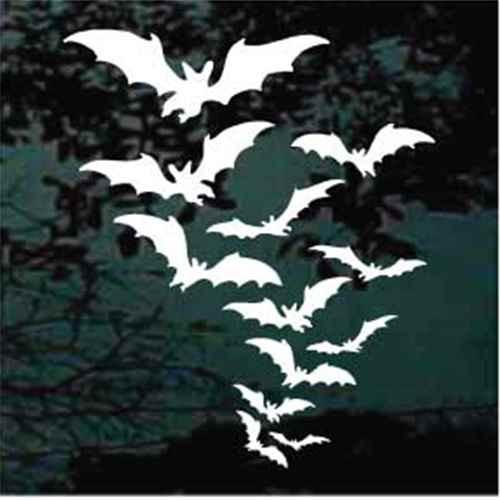 Bat Colony Decals