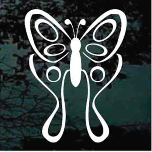 Butterfly window decals