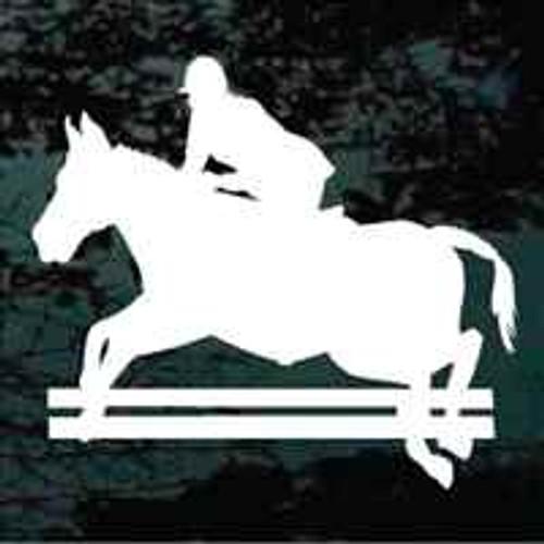 Equestrian Horse Jumping