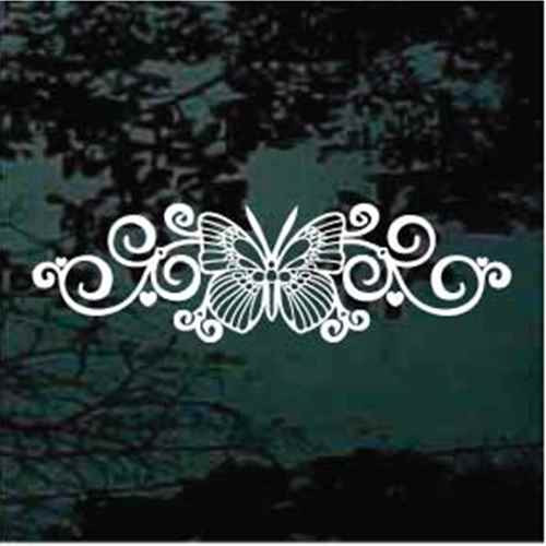 Beautiful Butterfly Design Butterfly Decals