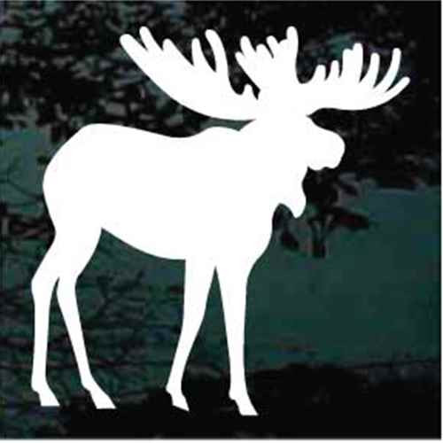 Silhouette Moose