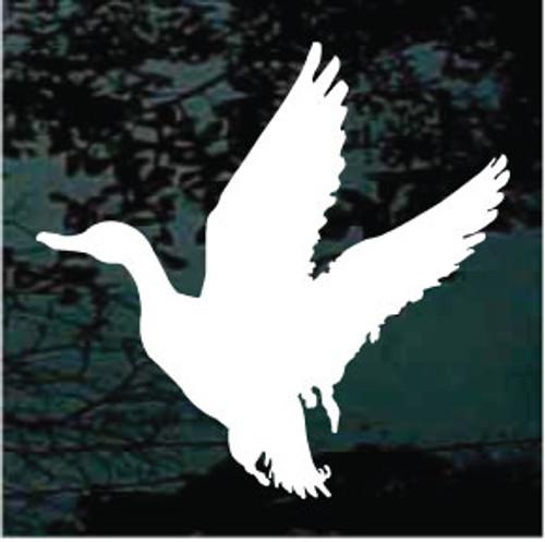 Duck 01 Silhouette