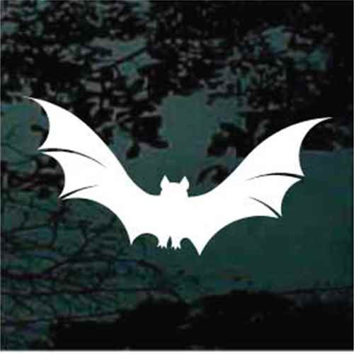 Flying Bat Decals