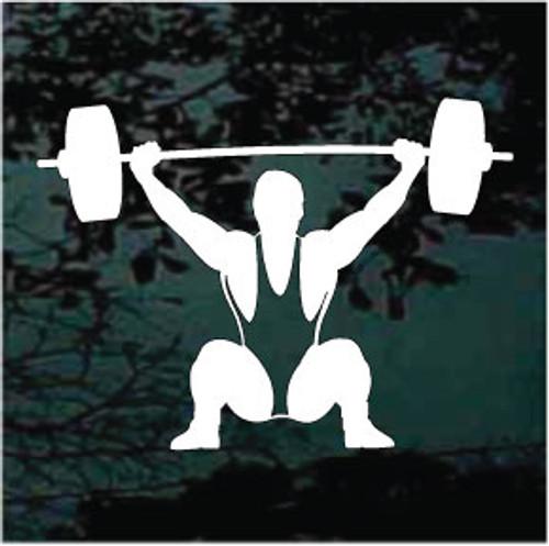 Bodybuilder Lifting Weights