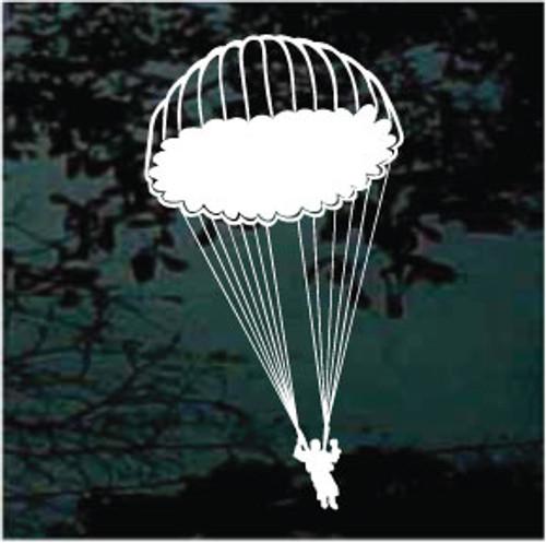 Skydiving Parachute Jump