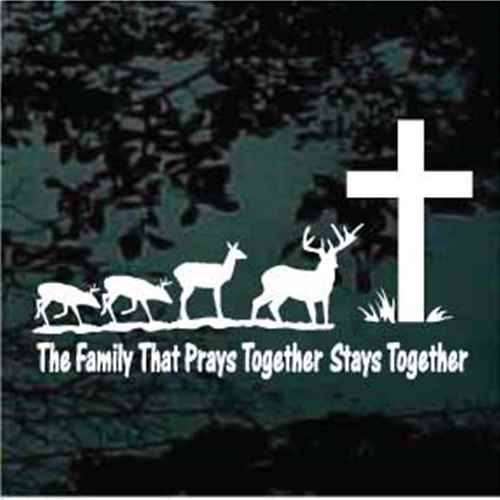 Deer Family That Prays Together Stays Together