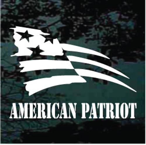 American Patriot Patriotic Decals