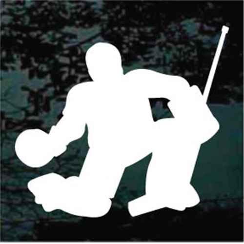 Goalie Hockey Player