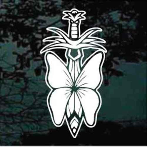 Butterfly On Sword