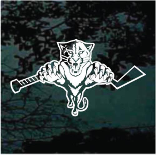 Hockey Cat Wildcats Mascot