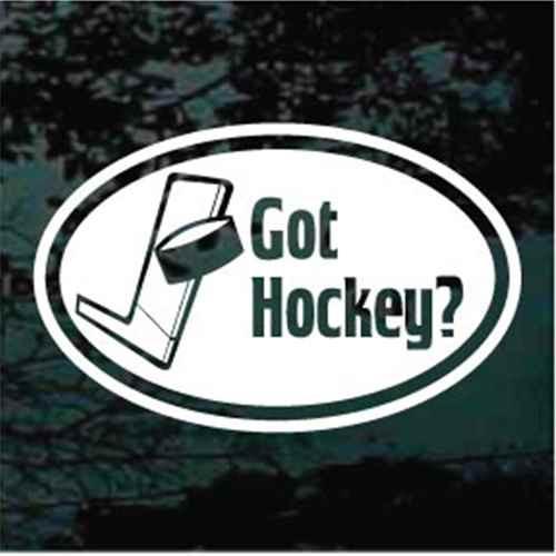 Got Hockey? Oval