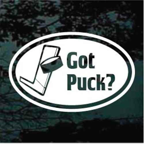 Got Puck? Oval
