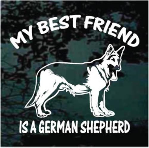 My Best Friend German Shepherd