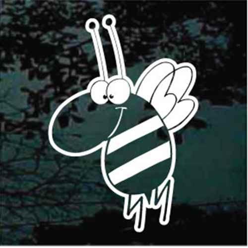 Cartoon Bee Decals