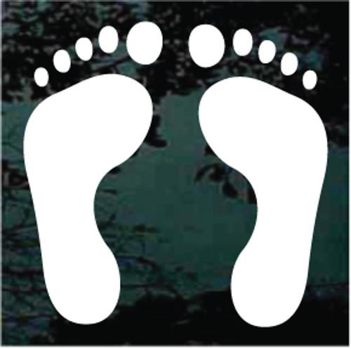 Bare Feet Foot Prints