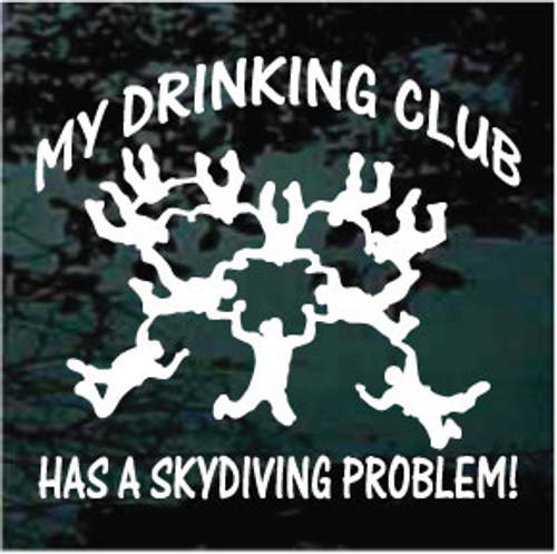 My Drinking Club Has A Skydiving Problem