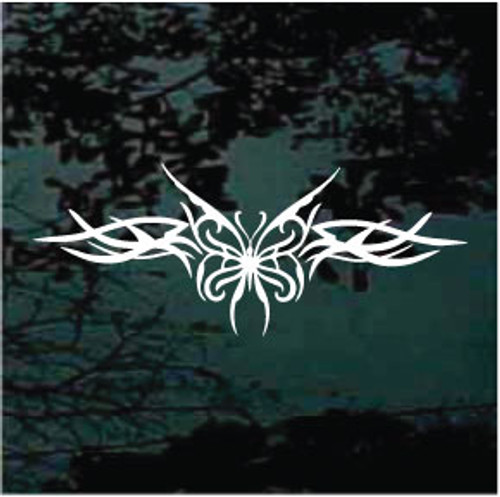 Butterfly Tribal Design