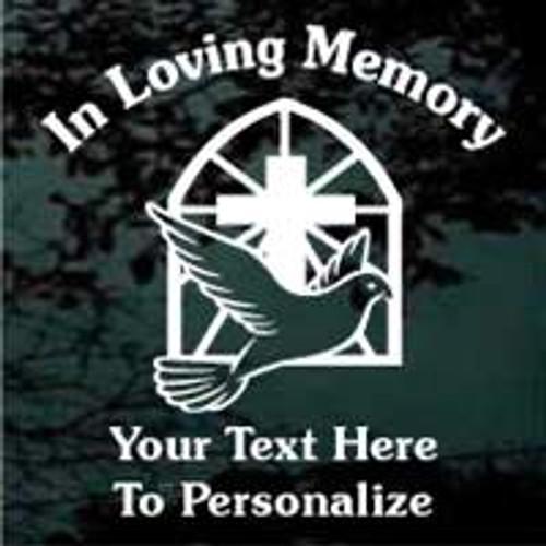 Cross With Dove 02 Memorial