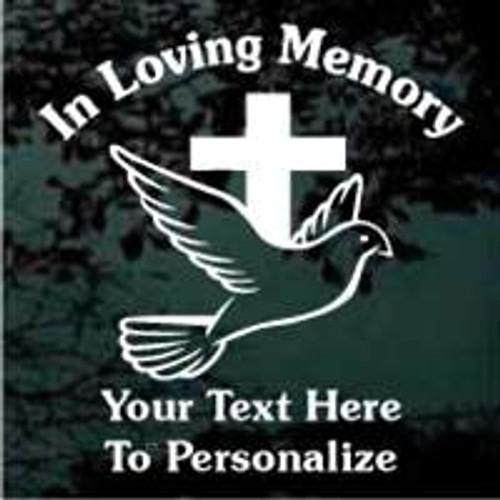 Cross With Dove 03 Memorial