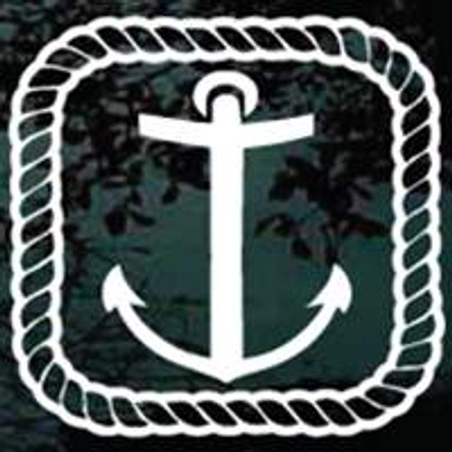 Anchor With Rope Border