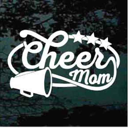 Cheer Mom With Stars
