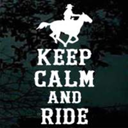 Keep Calm & Ride Horse 01