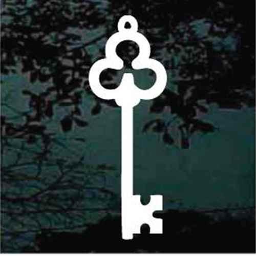 Three Ring Antique Skeleton Key
