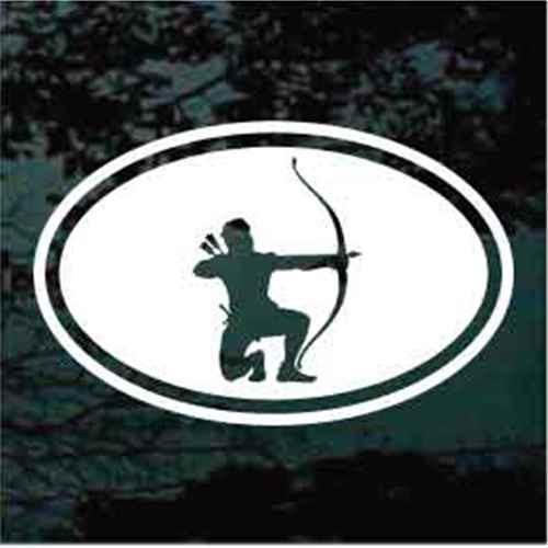 Archery Shooting Oval