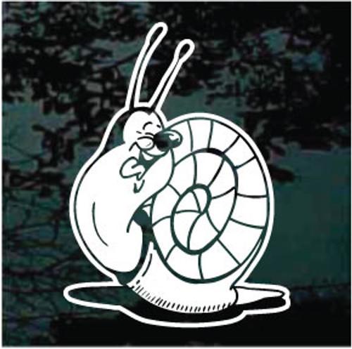 Detailed Cartoon Snail