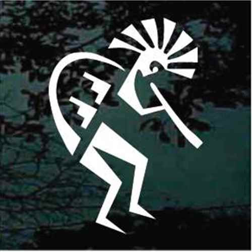 Kokopelli Car Decals Amp Window Stickers Decal Junky