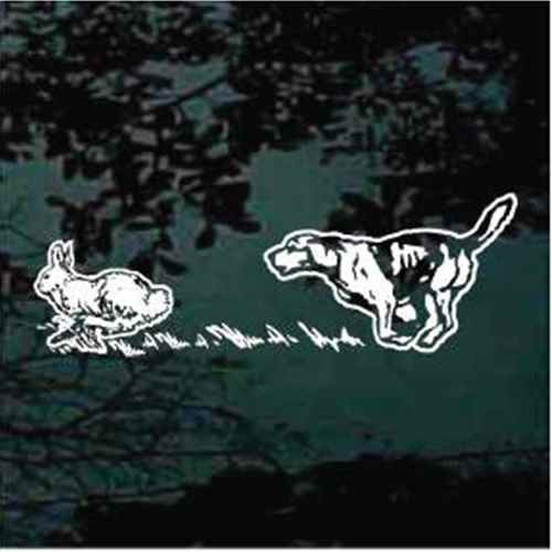 rabbit hunting decals rabbit hunting stickers decal junky