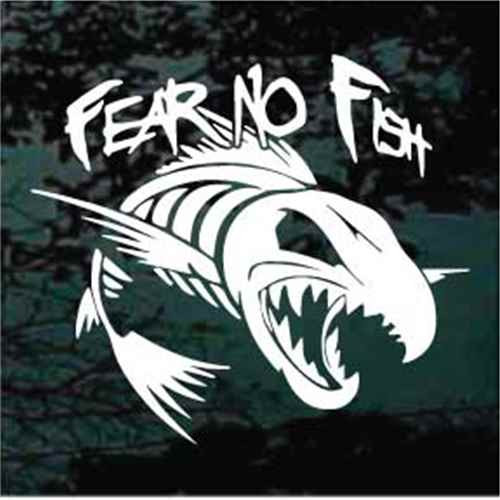 Fear No Fish Skeleton