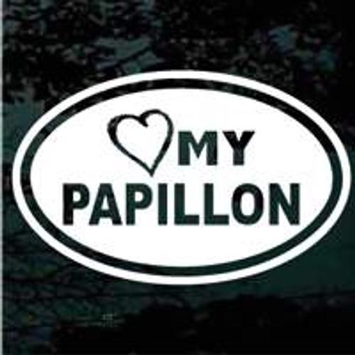 Oval Heart My Papillon