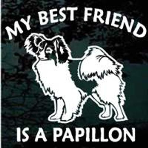 My Best Friend Is A Papillon